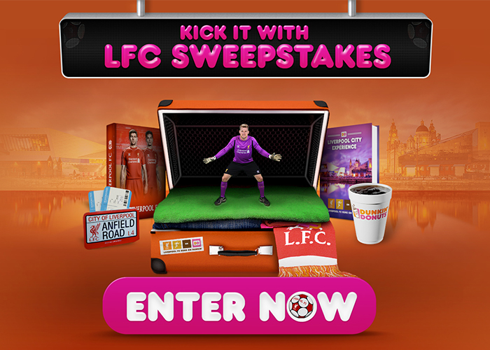 Dunkin' Donuts – LFC Penalty Game ( Mobile & PC ) HTML5