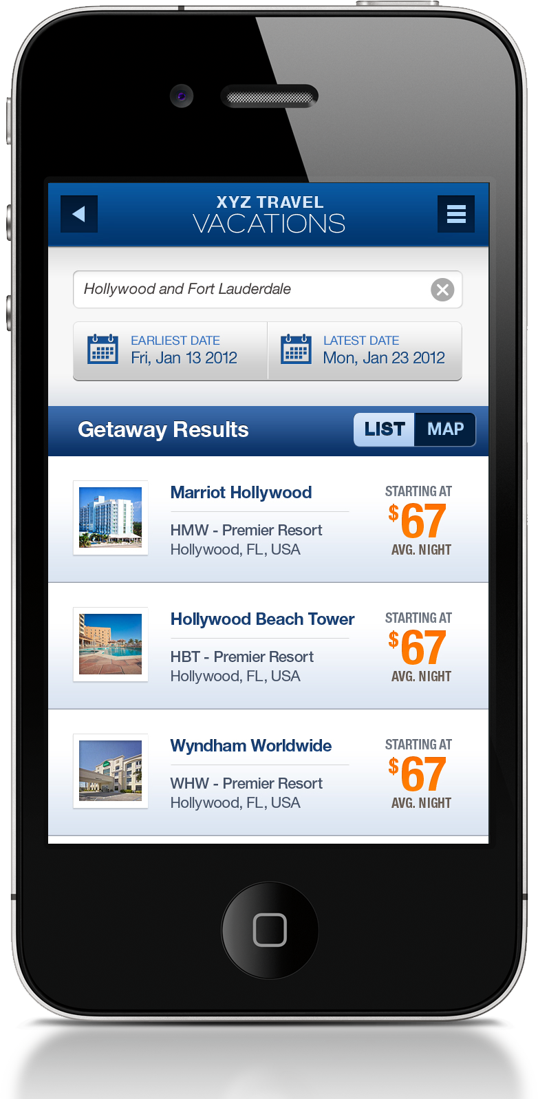 Find getaways iphone app erman erkur for Picture search app for iphone