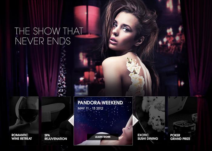 Borgata Web Design